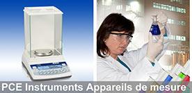 Instruments de mesure pour laboratoire