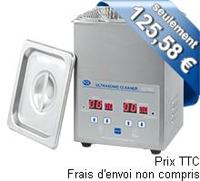 Nettoyeur à ultrasons PCE-UC 20